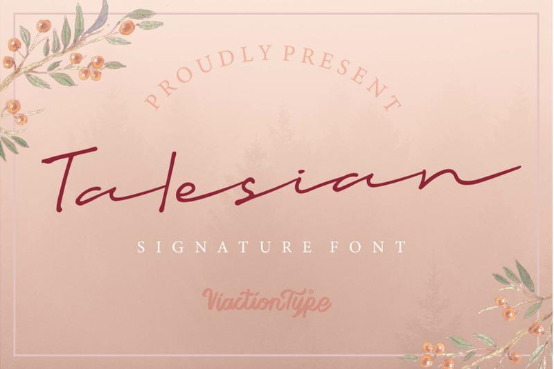 talesian-signature