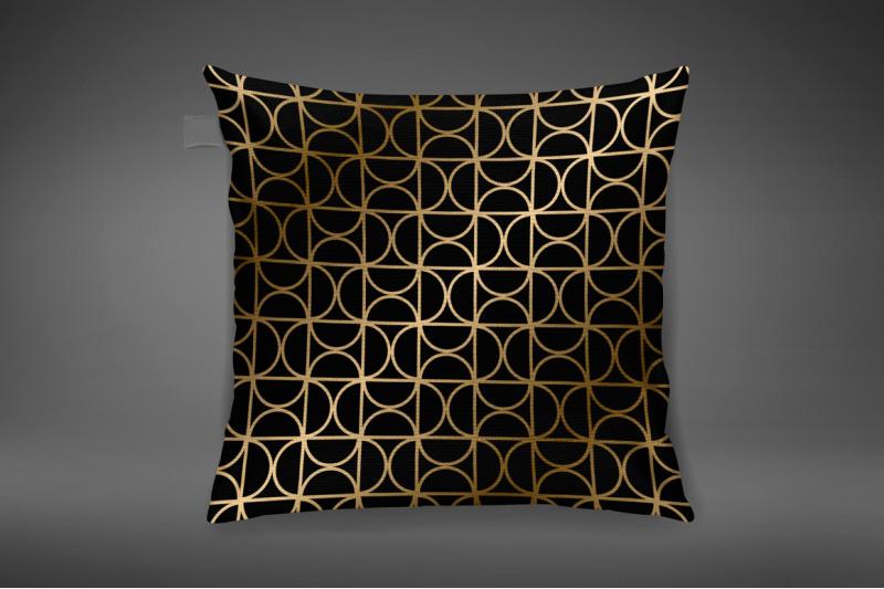 golden-seamless-geometric-patterns