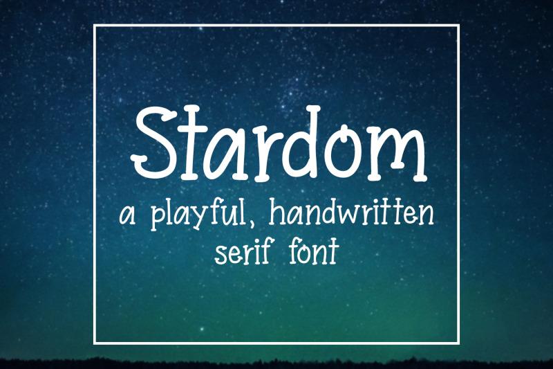 stardom-handwritten-font