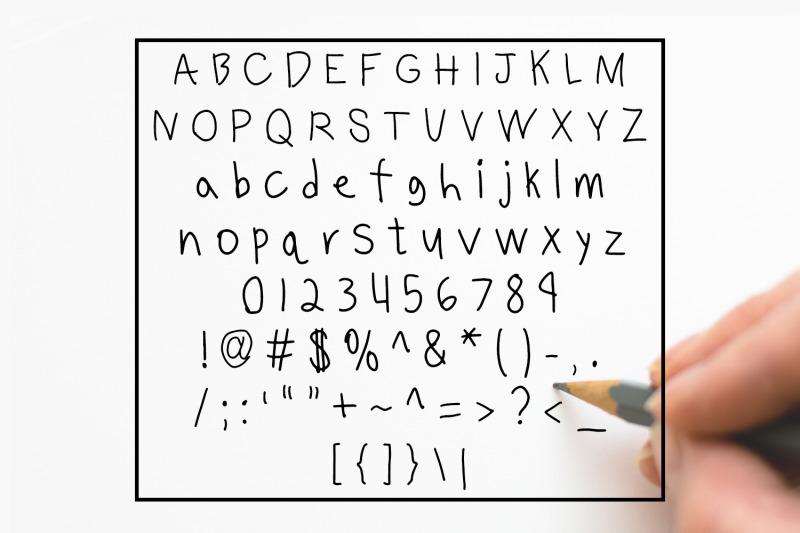 benjammin-039-a-12-year-old-boy-039-s-handwritten-font