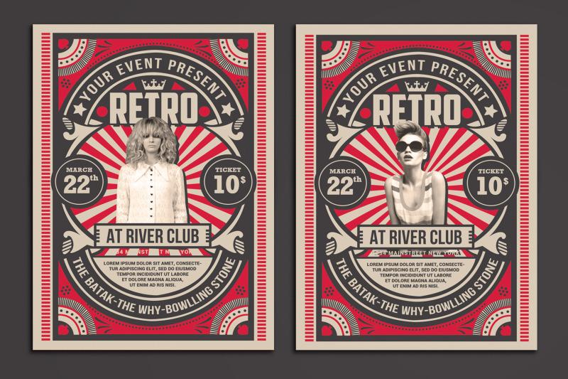 retro-music-show-flyer