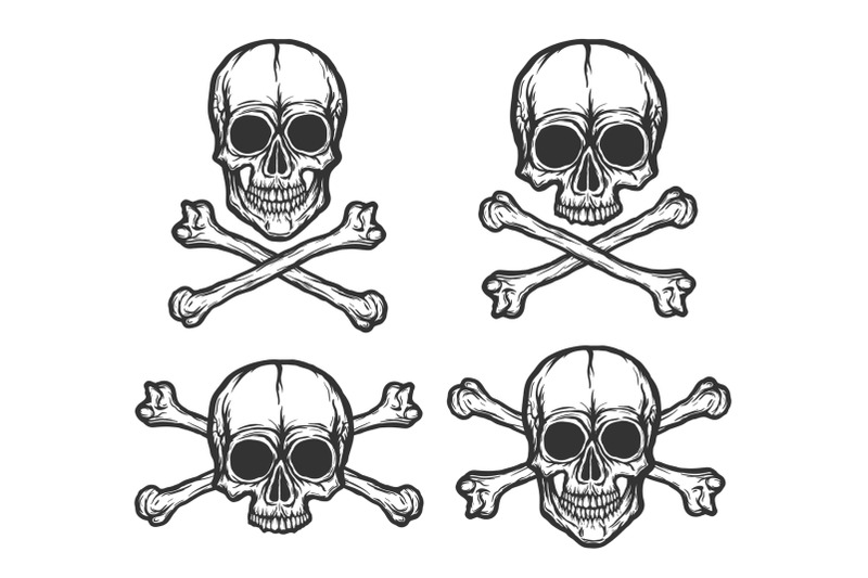 vector-skulls-collection