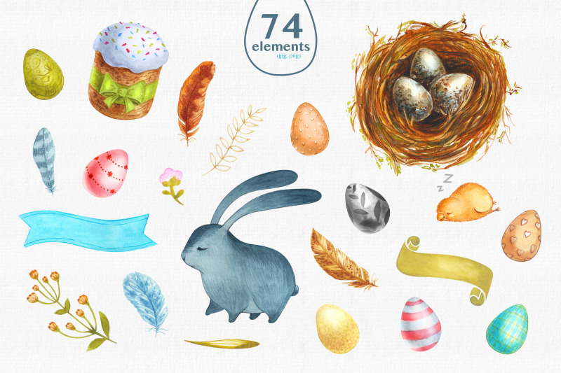 happy-easter-watercolor-set-of-images-for-the-holiday