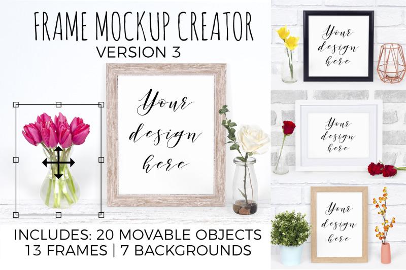frame-mockup-creator-bundle