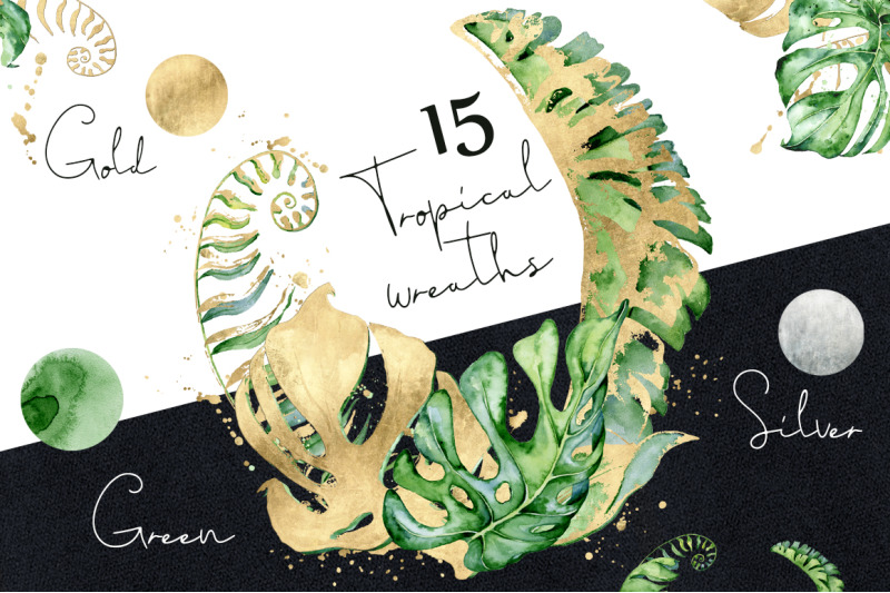 15-tropical-wreaths-watercolor