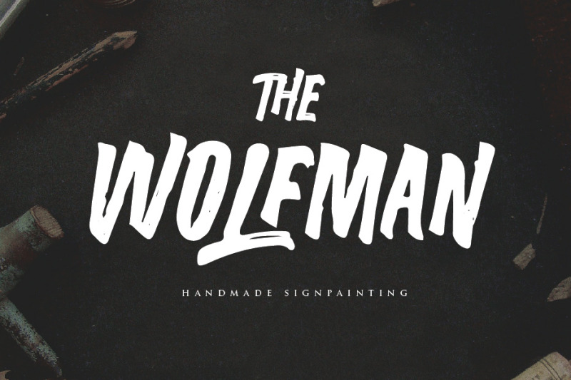 the-wolfman-typeface