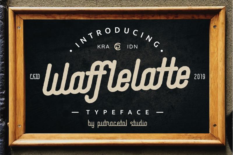 waffle-latte