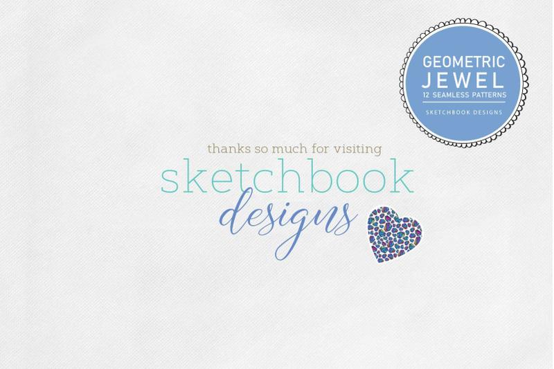 geometric-jewel-seamless-pattern-set
