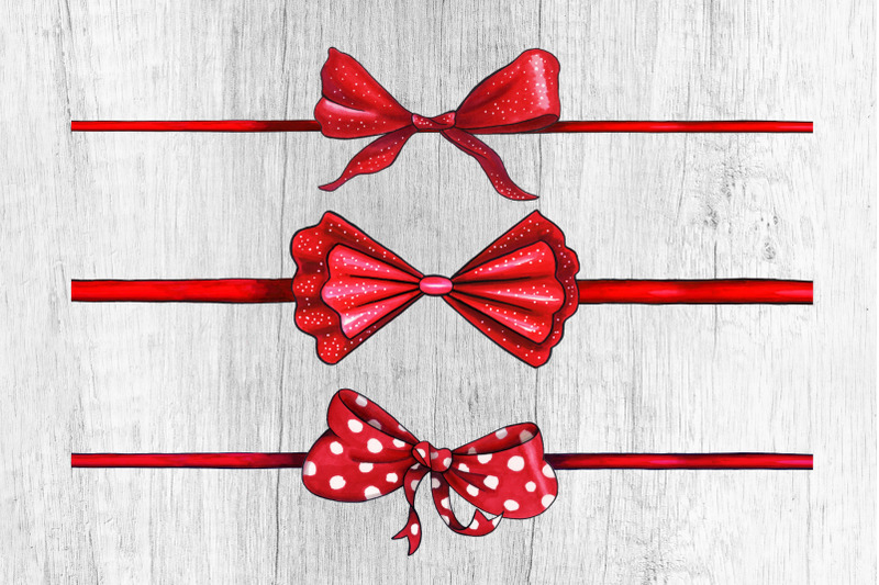 bows-and-ribbons-marker-clipart