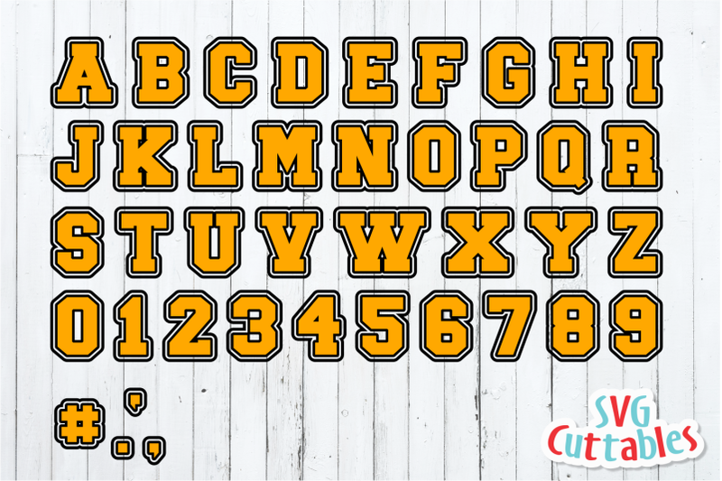 double-outlined-sport-alphabet-cut-file
