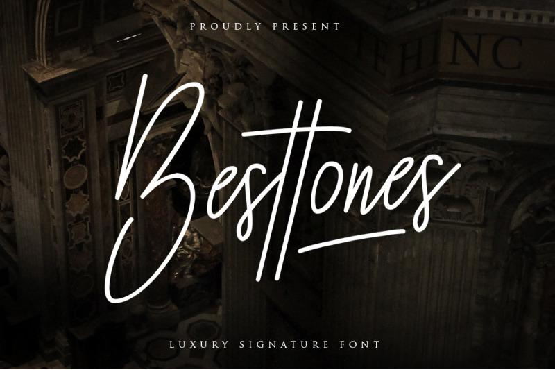 besttones-signature-font