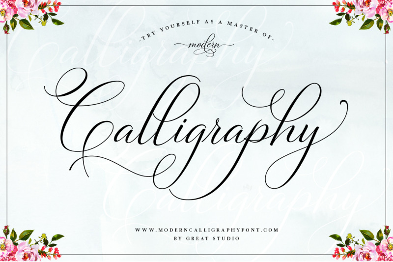 Bettrisia Script Elegant Calligraphy Font By Great Studio
