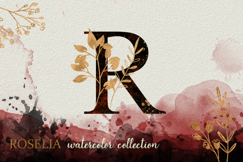 red-roselia-watercolor-collection