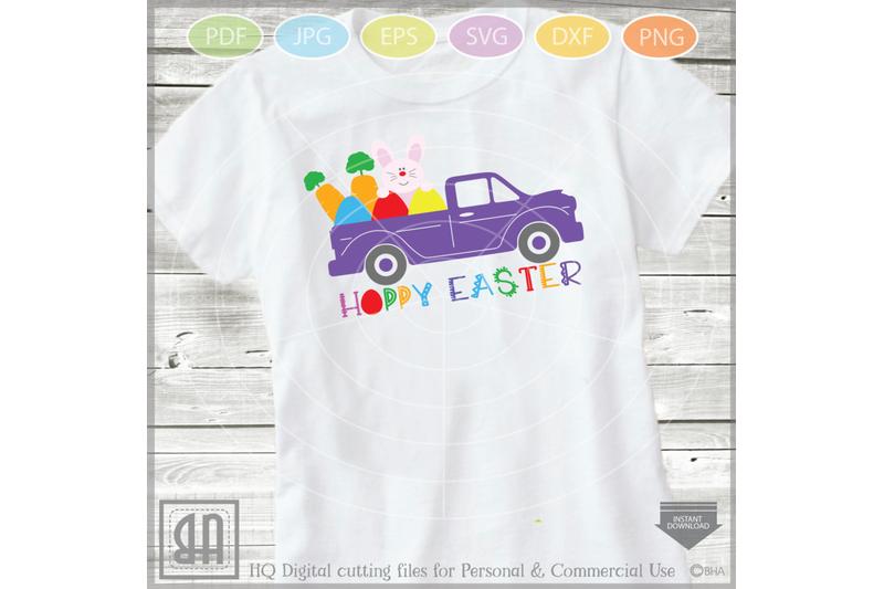 Easter Truck Svg Vintage Dump Truck Svg Girls Easter By