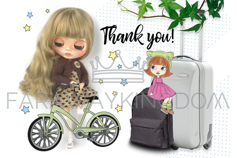 blythe-girls-doll-cartoon-baby-vector-illustration-set-for-print