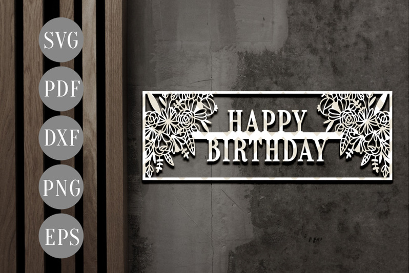 happy-birthday-frame-papercut-template-birthday-invitation-card-svg