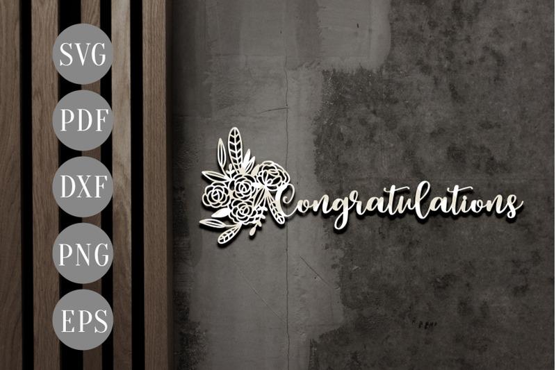 congratulations-papercut-template-wedding-invitation-card-svg-dxf