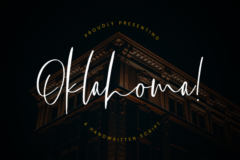 oklahoma-handwritten-script