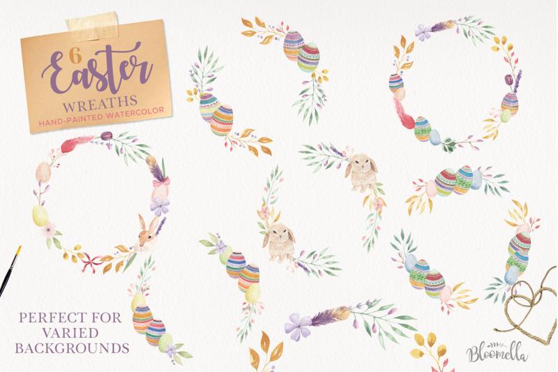 easter-egg-bunny-clipart-package-huge-spring-frames-patterns-kit
