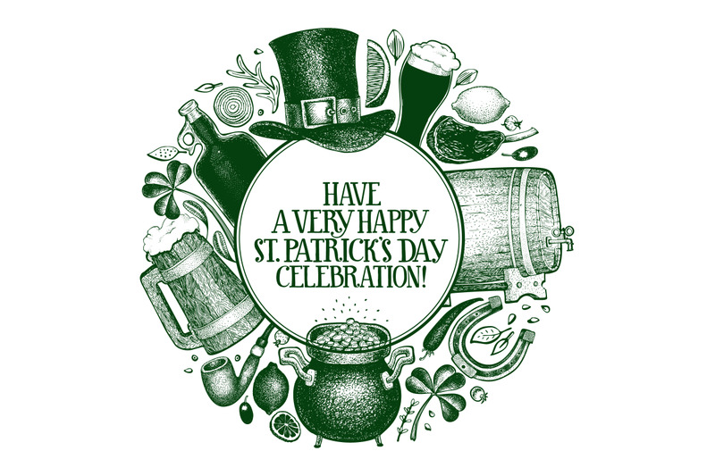 st-patrick-039-s-day-design-template