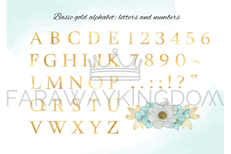 bloom-gold-floral-decorative-alphabet-vector-illustration-set