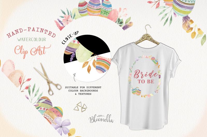 easter-egg-frames-borders-pastel-watercolours-flowers-floral-spring