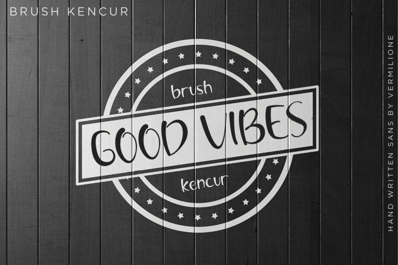 brush-kencur-hand-written-sans