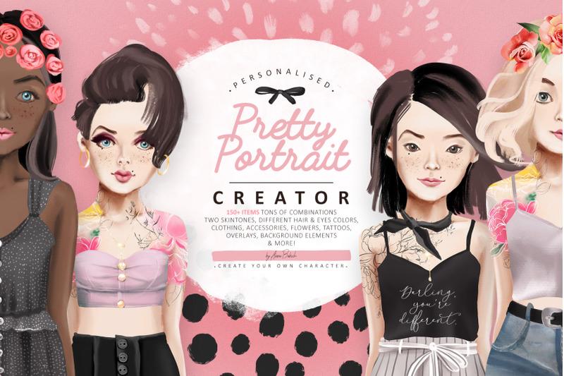 pretty-portrait-creator