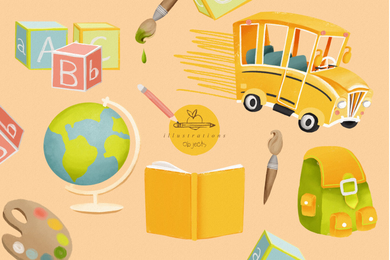 back-to-school-clipart-collection