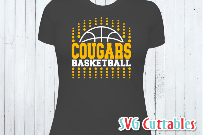 Basketball Template 0016 Cut File By Svg Cuttables