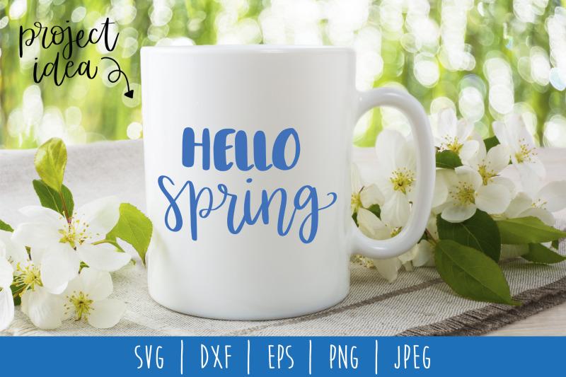 hello-spring-hand-lettered-svg-dxf-eps-png-jpeg