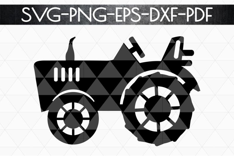 farm-tractor-papercut-template-rustic-farm-decor-pdf-svg