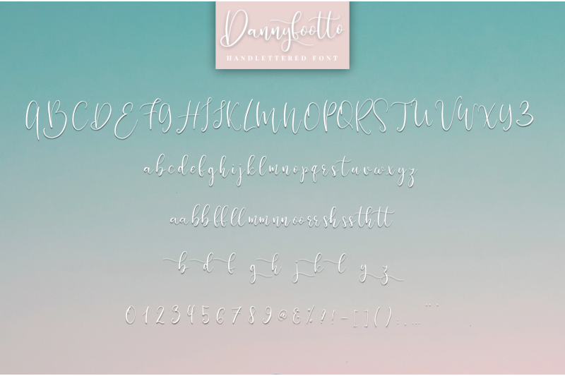 dannyfootto-handlettered-font