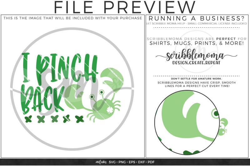 I Pinch Back St Patrick S Day Svg By Scribblemoma Graphics