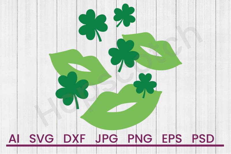 clover-kisses-svg-file-dxf-file