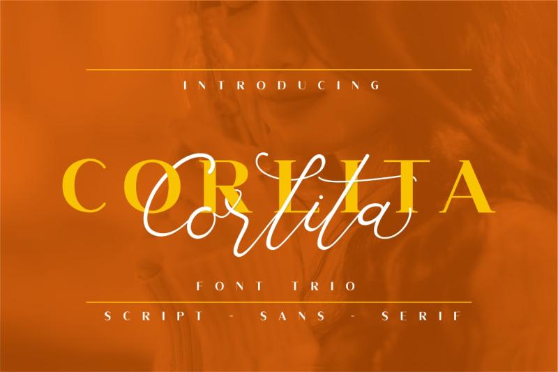 corlita-font-trio