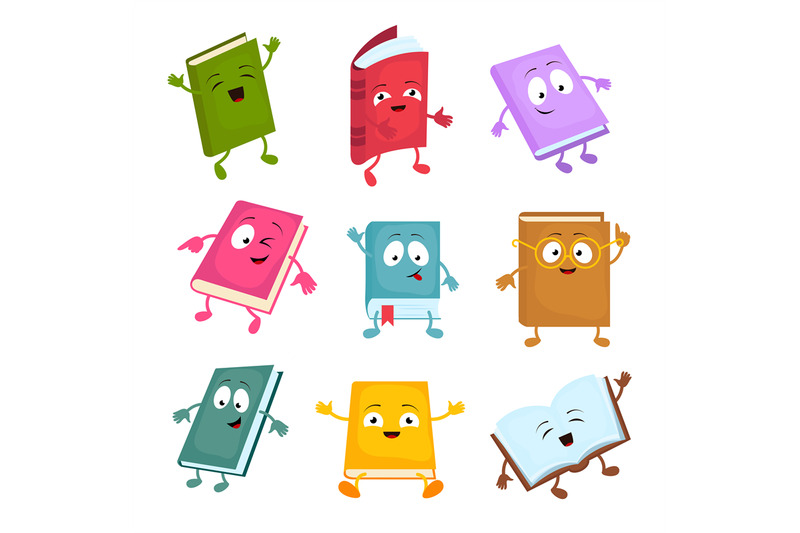 funny-and-cute-cartoon-book-vector-characters-happy-library-books-mas
