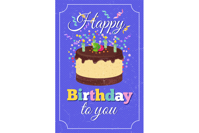 retro-happy-birthday-party-vector-greeting-card-with-cartoon-cake-and