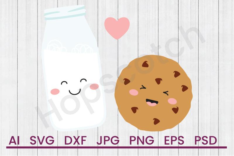milk-amp-cookie-svg-file-dxf-file