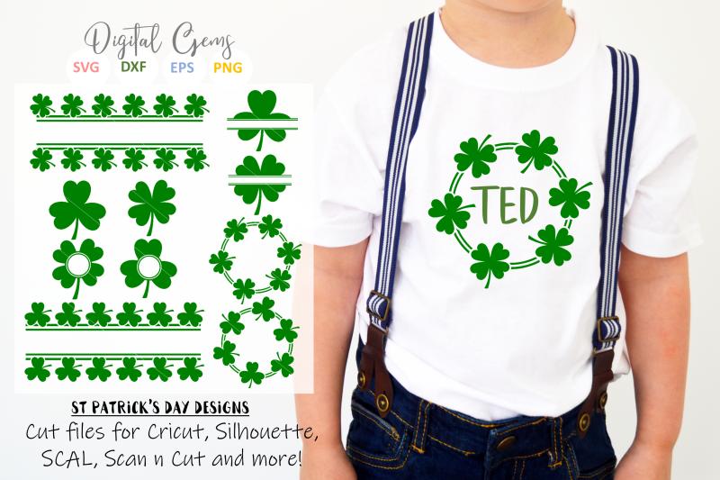 st-patrick-039-s-day-clover-shamrock-designs
