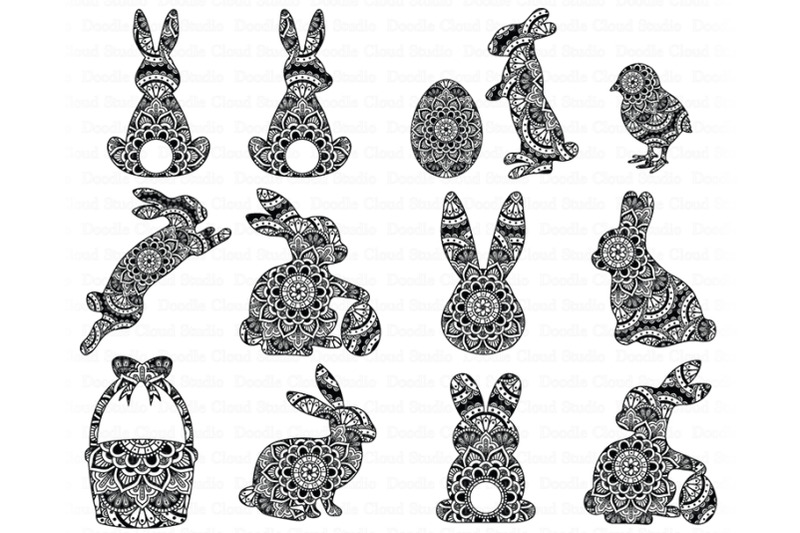 easter-mandala-svg-bunny-nbsp-mandala-svg-rabbit-mandala-svg