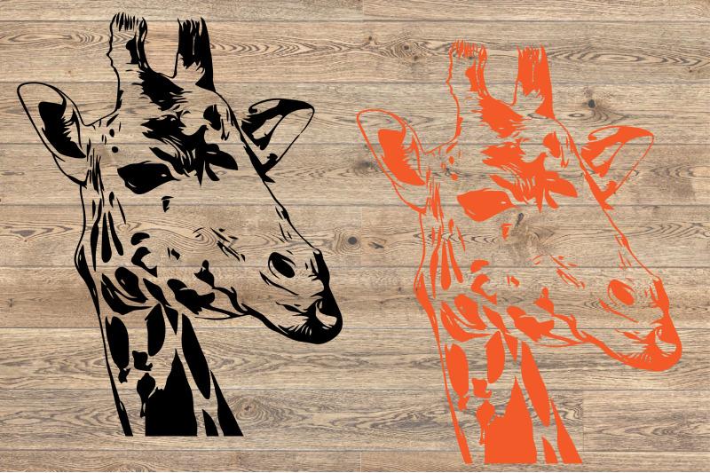 Giraffe Head SVG Mandala wild life africa animals safari ...