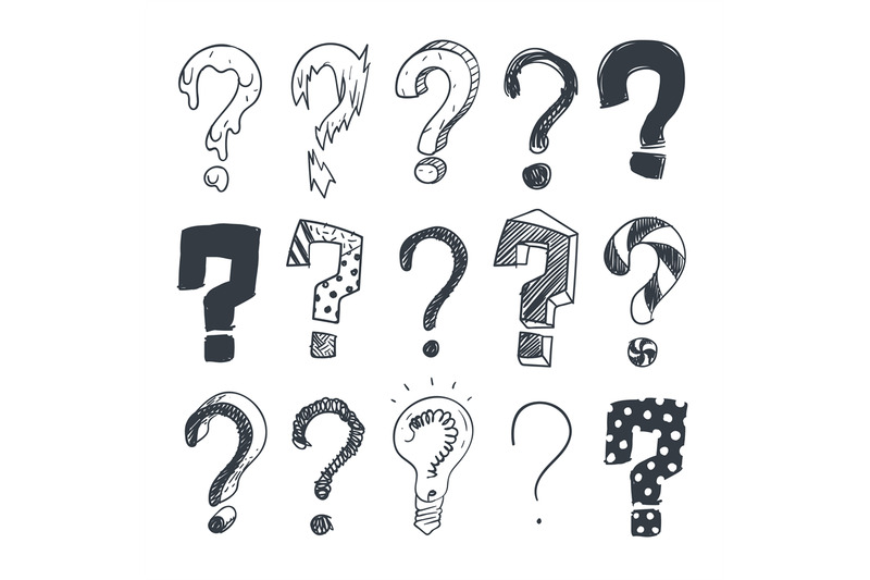 doodle-question-marks-hand-drawn-interrogation-query-symbols-vector-s