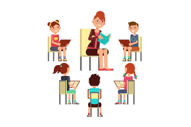teacher-reading-book-to-children-that-sitting-around-kids-education-v