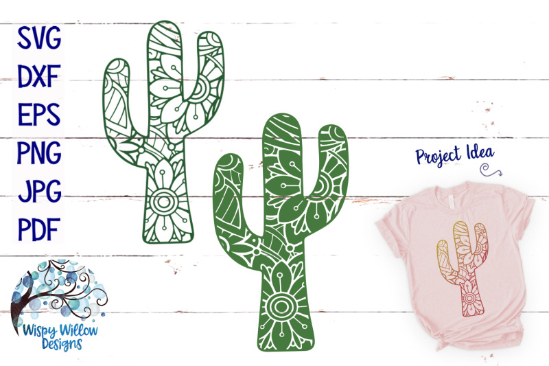 mandala-cactus-svg-bundle