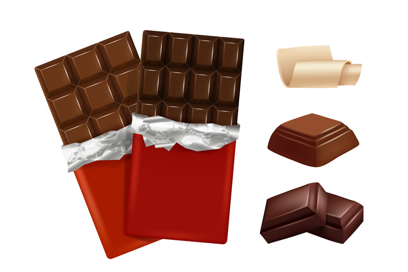 white-and-dark-chocolate-vector-pictures-of-different-pieces-of-choco