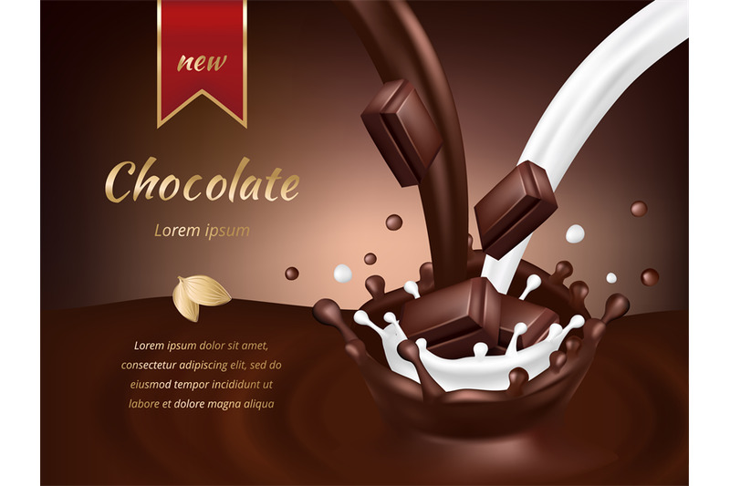 chocolate-advertisement-poster-realistic-chocolate-and-milk-vector-il