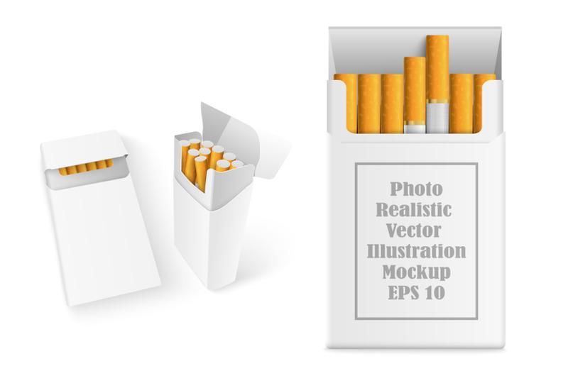 Free Realistic Cigarette Mockup (PSD Mockups)