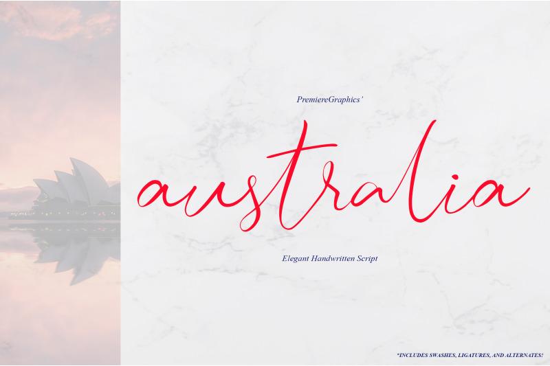 australia-script-font