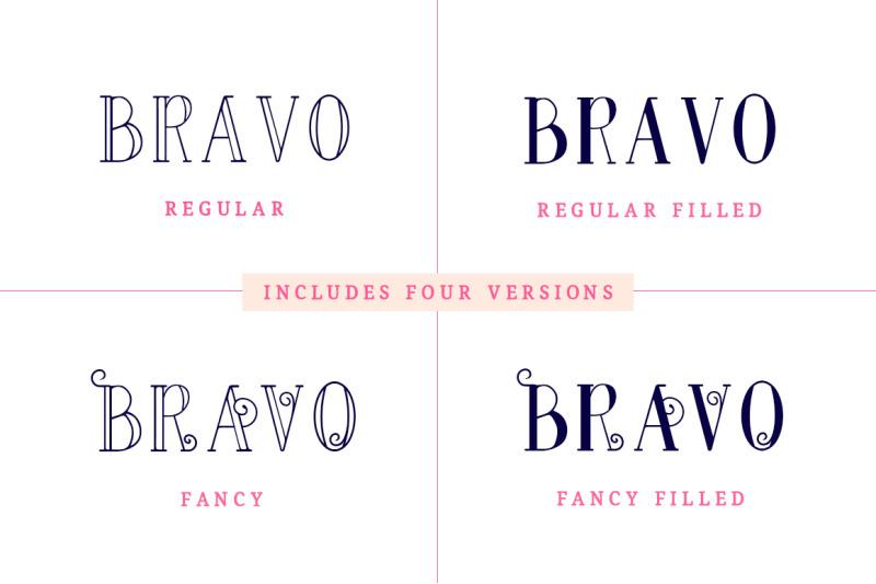 bravo-sir-font-family